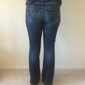 Medium blue petite bootcut Citizens Jeans